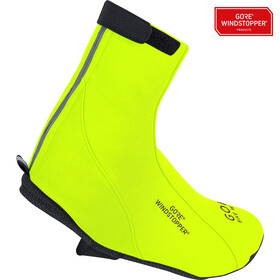 GORE BIKE WEAR Road WS Overshoes neon yellow